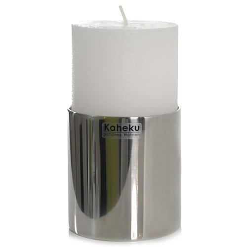 Leuchter SUB, Kerzenleuchter, Edelstahl, 8 cm, Kaheku