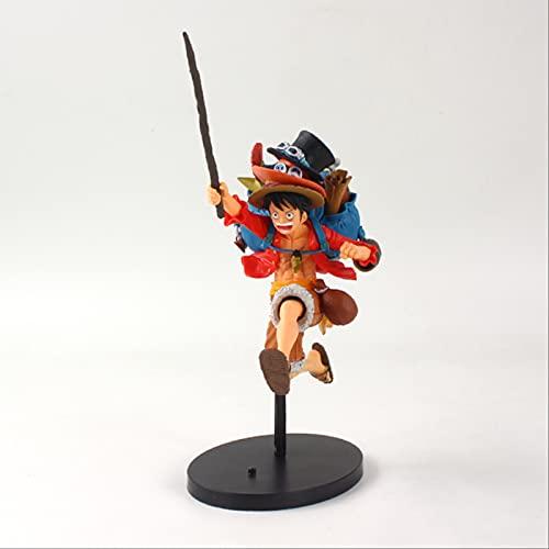 Geyang Figuras De Acción De Anime Juguetes The Grandline Man Luffy Sanji Ace PVC Figura Modelo De Juguete para Niños 20cm Luffy