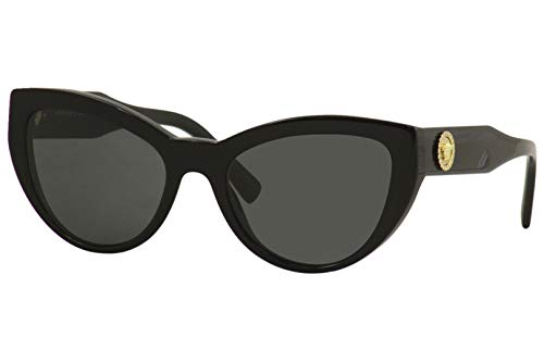 Versace 0VE4381B Occhiali, (BLACK/GREY), 53/19/140
