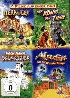 Herkules - Der König der Tiere - Noch mehr Dalmatiner - Aladin (4 Filme auf einer DVD)