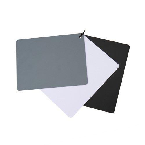 JJC GC-3 Medium Size 3-in-1-Weißabgleich und Graukarten