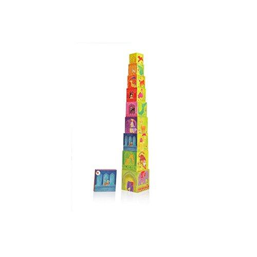 Egmont Toys piramide Cubi India kinderen educatief spel