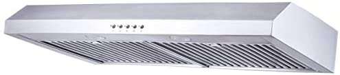 Range Hood 30 inch Kitchenexus Stainless Steel 300CFM Ducted ductless Under Cabinet Kitchen product image
