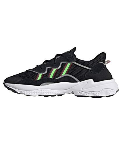 adidas Originals Ozweego, Core Black-Solar Green-Onix, 7,5