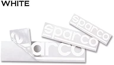 Sparco スパルコ ロゴステッカー 抜き文字 Sサイズ