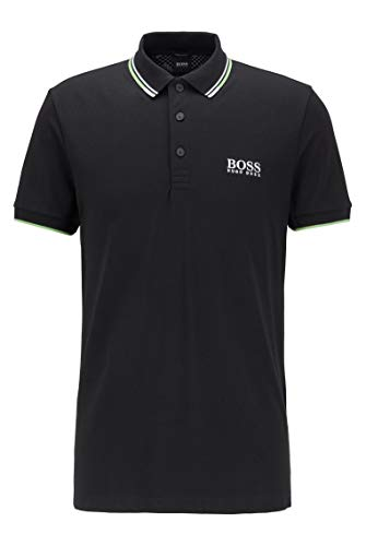 BOSS Herren Paddy Pro Schnelltrocknendes Piqué-Polo mit Regular-Fit