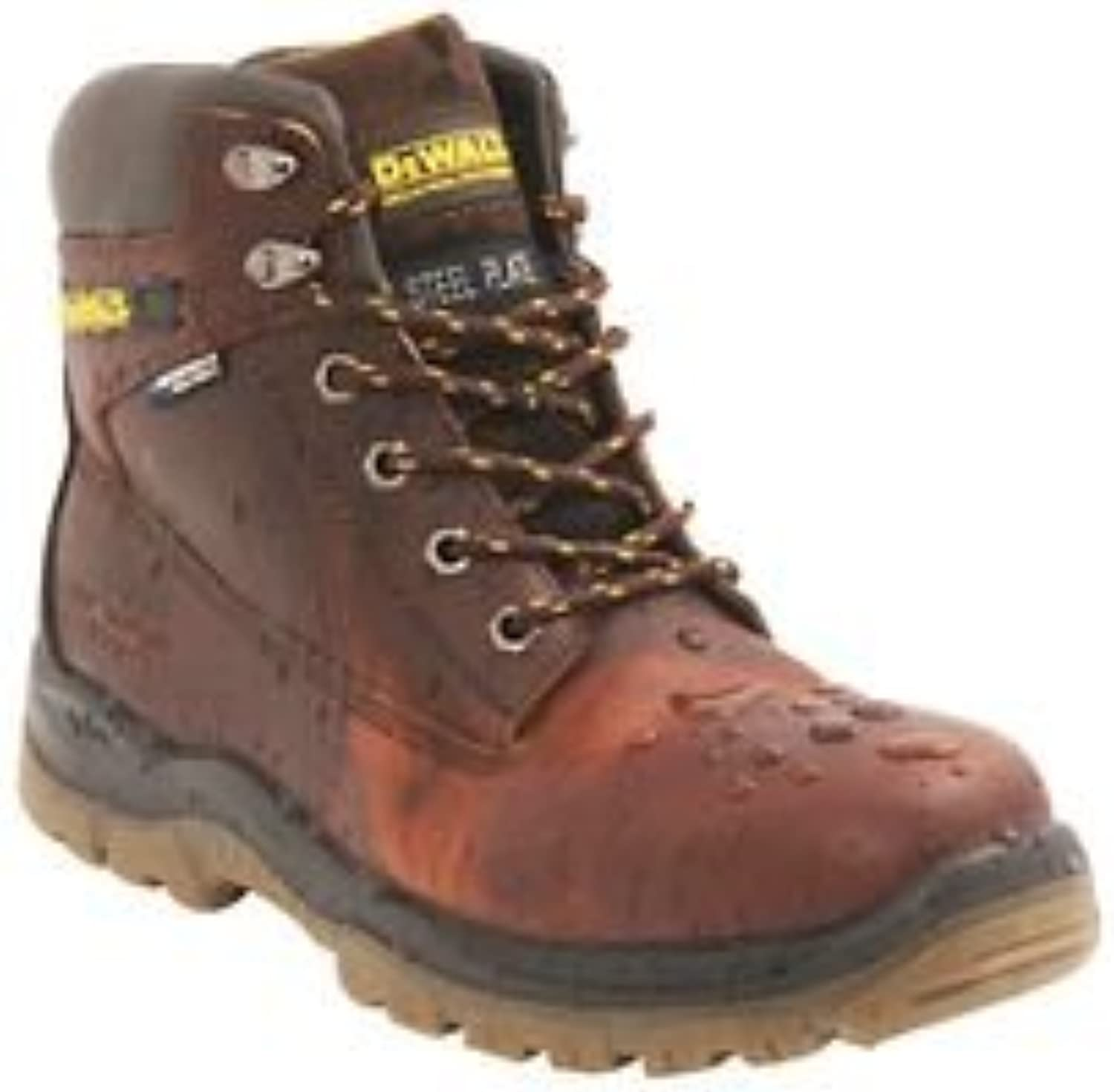 Titanium Tan 6 inch Waterproof Safety Boot, Size 8