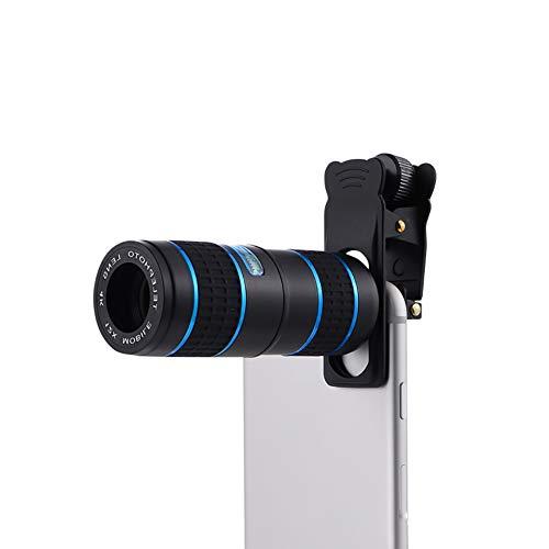 Nieuwe Mobiele Telefoon Camera Lens Kit, 12X HD Mobiele Telefoon Camera Lens, Telefoon + Fisheye + Breedhoek + Macro + BAK Prism Materiaal 5-in1 (Editie : 5-in-1 pak)