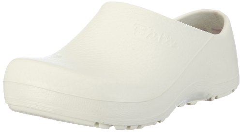 Birki's PROFI BIRKI AS 74021 Unisex-Erwachsene Clogs & Pantoletten, Weiss, 37 Normal