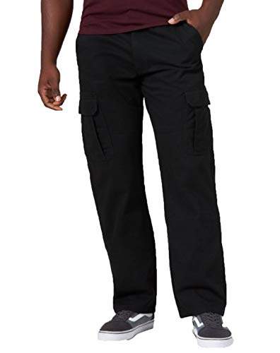 Wrangler Men's Cargo Pants - Black 32x30
