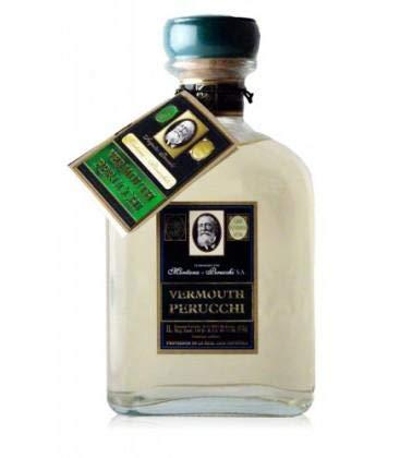 Vermouth Perucchi Bianco - Único Vermouth Blanco Dulce - Elaborado En España - 15% Alcohol - Selección Vins&Co - 1000 ml