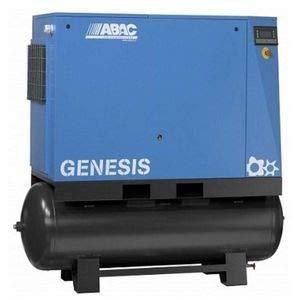 Compresseur d'air rotatif à vis réservoir 500 litres 30 CV triphasé 8 bar ABAC