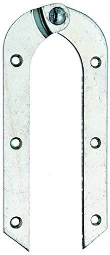 GAH-Alberts 341503 Leiterband | gebogen | verzinkt | Größe 200 x 21 mm