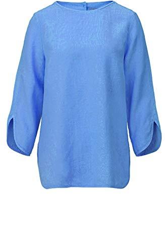 Backstage Kleidung Blau Leinen Top Gr. Small, Fjord