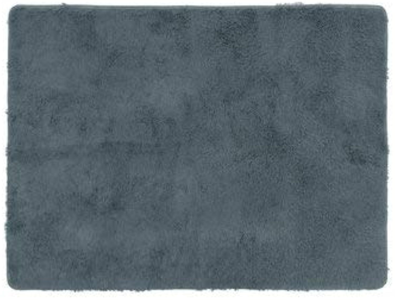 CCChaRLes 160X230Cm Tapis Moelleux Tapis Anti-Dérapant Salon Tapis De Maison Tapis De Sol Doux Et Confortable - gris Profond