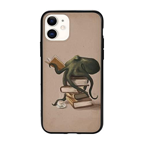Well-Read Octopus Assorbimento degli Urti e Anti-Graffio con iPhone 12/11 Pro Max 12 mini SE X/XS Max XR 8 7 6 6s Plus Custodie per Telefoni