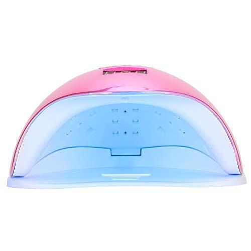 Secador de esmalte de uñas extraíble y fácil de limpiar, lámpara de secado de esmalte de uñas, sincronización inteligente para la tienda de(110~240V, European standard)