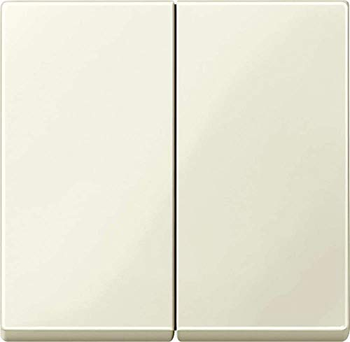 Merten Serienwippe 432544 Wippe für Serienschalter, weiß glänzend, System M