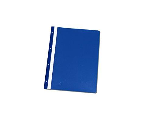 20 Ablage-Schnellhefter / Archiv-Hefter mit Lochung zum Abheften / Farbe: blau
