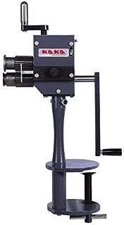 KAKA Industrial RM-B Sheet Metal Bead Roller, 4-Inch Depth Sheet Metal Roller, 20 Gauge Rotary Tool, Easy Operation and Light Weight Sheet Metal Rotary Crimper Machine