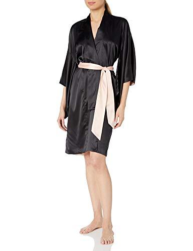 Dear Drew by Drew Barrymore Damen Manhattan Nights Short Kimono Robe Bademantel, Wasserhahn Schuh, Medium