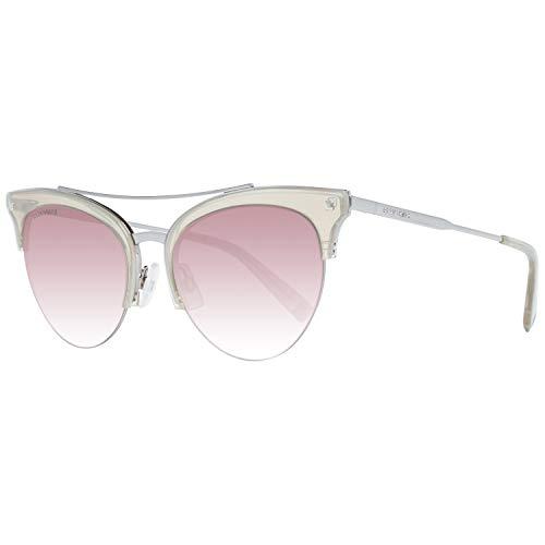 DSQUARED2 DQ0252 20F 56 Monturas de gafas, Gris (Grigio/), 56.0 Unisex Adulto