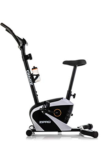 Zipro Erwachsene Magnetisches Fitnessbike Heimtrainer Beat RS bis 120kg, Schwarz, One Size, einheitsgröße