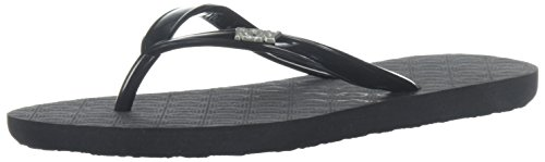 Roxy Girl's RG Viva Sandal Flip-Flop, Black, 11 M US Little Kid