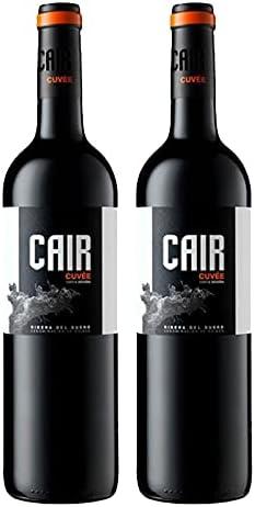 Vino Tinto Cair Cuvee de 75 cl - D.O. Ribera del Duero - Bodegas Cair (Pack de 2 botellas)