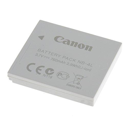 Original Akku für Canon Typ NB-4L Original, Li-Ion, 3,7V