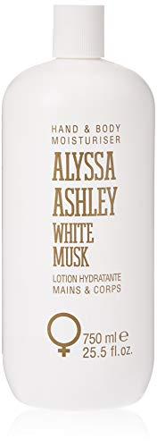 ALYSSA ASHLEY WHITE MUSK HAND/BODY LOTION 750ML
