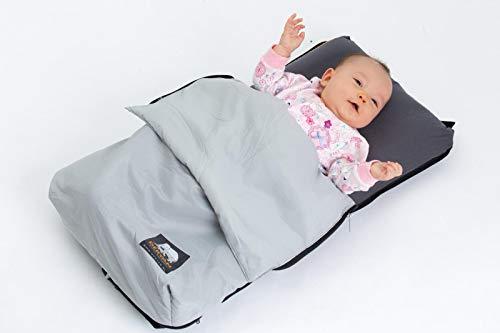 Deryan AIR - Colchoneta de bebé para vuelos