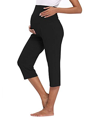 AMPOSH Women's Maternity Capri Pants