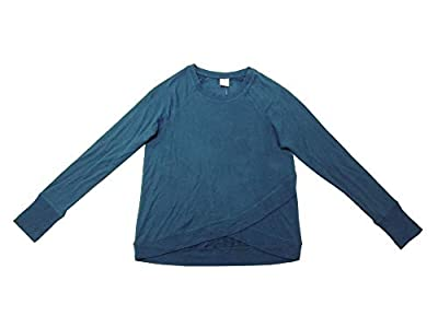 Active Life Womens Modal Pullover L/S Sweater (Abyss Solid, X-Large)