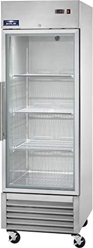 Arctic Air AGR23 27 One Section Glass Door Reach in Refrigerator 23 cu ft product image