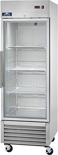"""Arctic Air AGR23 27"""" One Section Glass Door Reach-in Refrigerator - 23 cu. ft."""