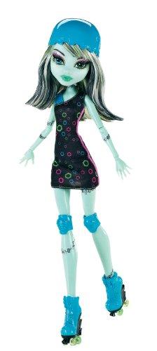 Mattel Monster High X3672 - Rollschuh-Clique Frankie, Puppe