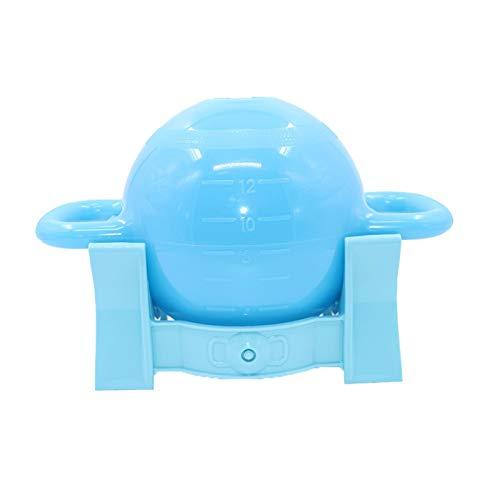 WSXEDC Wassergefüllte Kettle, einstellbares Gewicht Kettle, Anti-Rutsch-Doppel Ear Griff Hanteln, bewegliche Flache Unterseite Yoga Gymnastikbälle Trainingszubehör Wassergefüllte Hanteln