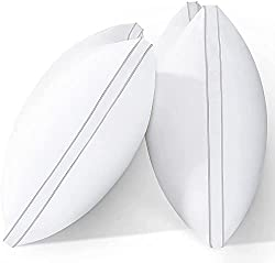 Image of viewstar Bed Pillows for Sleeping Standard Size Set of 2, 20 x 26 Hotel Quality Pillows, Hypoallergenic Down Alternative Pillows for Side Back Sleepers, Soft and Supportive Gusseted Pillow: Bestviewsreviews