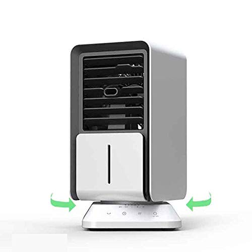 MERCB Raffreddatore d'Aria per L'Ufficio Domestico Raffreddatore d'Aria Portatile Condizionatore d'Aria per Lo Spazio Personale Umidificatore Purificatore d'Aria Mini Muto orientabile con luci a LED