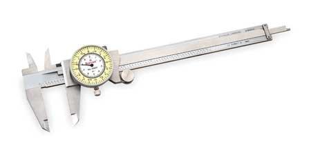STARRETT 1202F-6 - 68931 Dial Caliper 6\, Fractional'