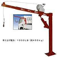Toolsisland クレーン 油圧式ピックアップ トラックリフト ウインチ付き トラッククレーン