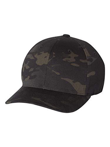 Flexfit Kappe Baseballcap / Basecap / Baseballcap / Flexfit -  Schwarz -  Small / Medium