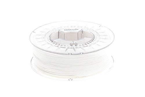 extrudr PLA NX2 MATTE ø1.75mm (1.1kg) 3D printer filament, WHITE MATTE (RGB 255:255:255) - Made in EU at a fair price!