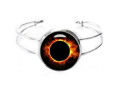Little Love - Brazalete eclipse solar, pulsera de eclipse solar, pulsera de eclipse total, joyería de eclipse solar,