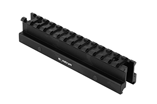 "Monstrum High Profile Picatinny Riser Mount (1"" H x 5.7"" L), for Scopes and Optics"