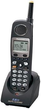 Panasonic KX-TGA450B Extra Handset for Pankxtg 4500B Black