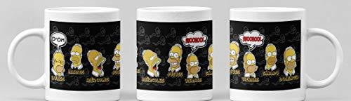 Desconocido Taza Serie televisiva Simpsons. Taza de cerámica dias de la Semana Homer