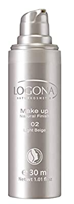 Logona Natural Finish Foundation, Light Beige 30 ml