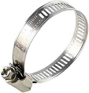 HWNGDI 10x Metal clamp Sale item Fuel Adjust 5 popular Fastener Pipe Worm Gear